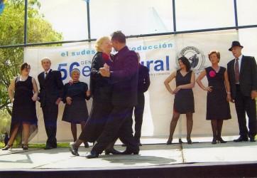 Madariaga en el Festival de tango