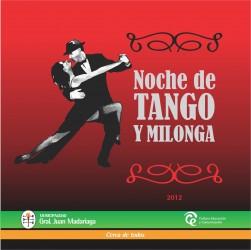 Se viene la segunda noche de tango y milonga