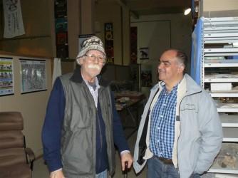 El paleontólogo Fernando Novas visitó el Museo Tuyu Mapu