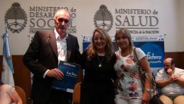 Popovich con Alicia Kirchner