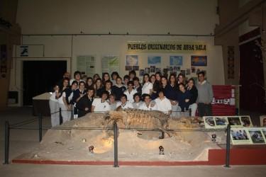 Alumnos del Instituto San José visitaron el Museo Tuyú Mapu