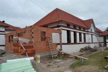 Continúa la construcción de la sala de pediatría