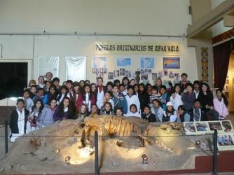 Alumnos de Valeria del Mar visitaron el Museo Tuyú Mapu