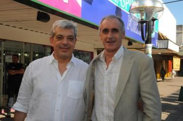 Popovich se reunió con Julián Domínguez