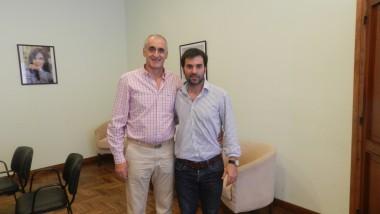 Popovich se reunió con Echarren