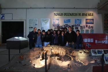 Continúan las visitas al Museo Tuyú Mapu