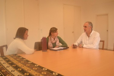 Popovich se reunió con la Dra. Laura Martín