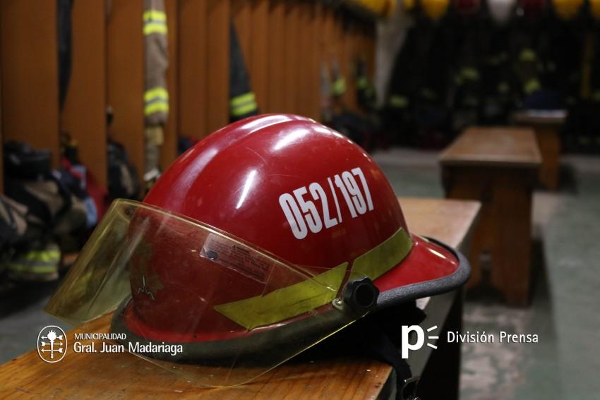 casco bomberos