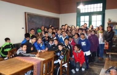 Alumnos de Valeria del Mar visitaron nuestra ciudad