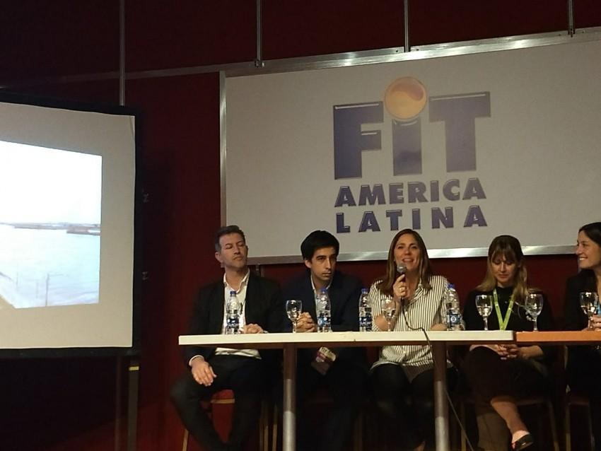 Madariaga presentó su propuesta turística en la FIT
