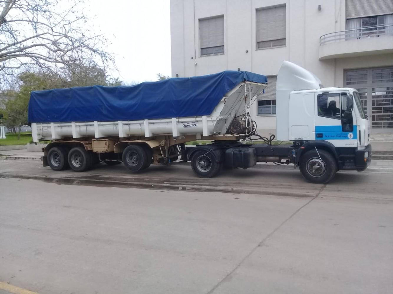 camion batea