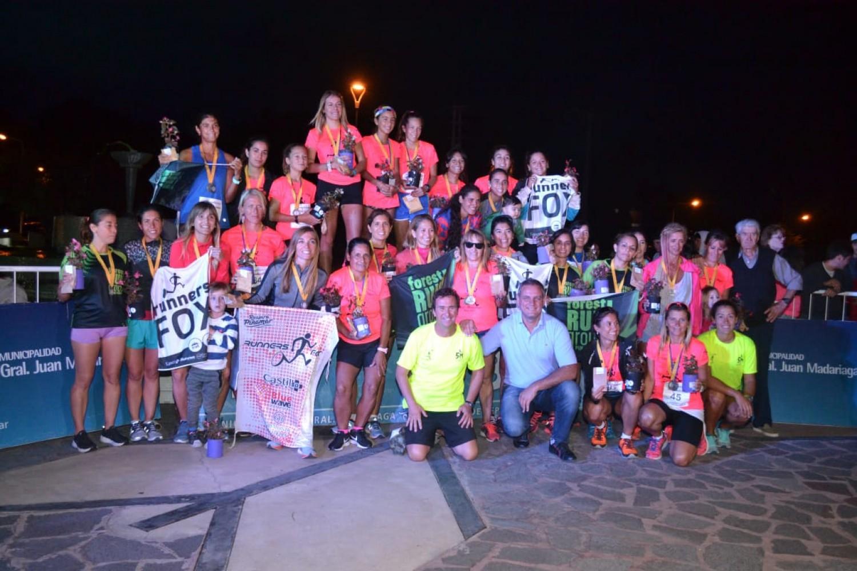 La Carrera de la Mujer tuvo su pico de participación y más de 300 corredoras disfrutaron de una jornada única