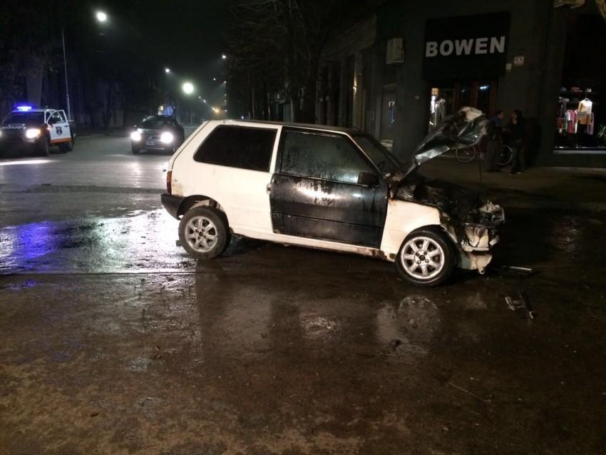 Choque Fiat Uno Madariaga