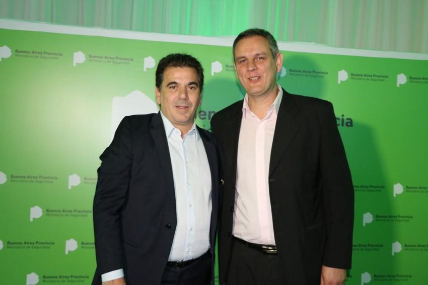 Cristian Ritondo y Esteban Santoro