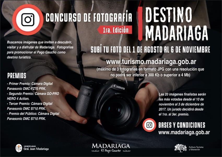 Lanzan un concurso de fotografía para promocionar a Madariaga como destino turístico