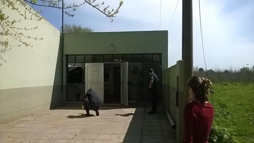 Destrozos en escuela 20