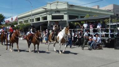 Popovich junto a la Fiesta del Gaucho