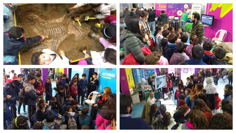 Estación Ciencia recibió a más de 5.500 chicos durante sus días de exposición