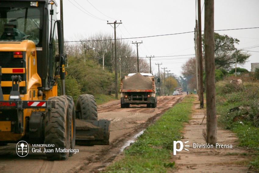 Mejoran la calle México del barrio Belgrano