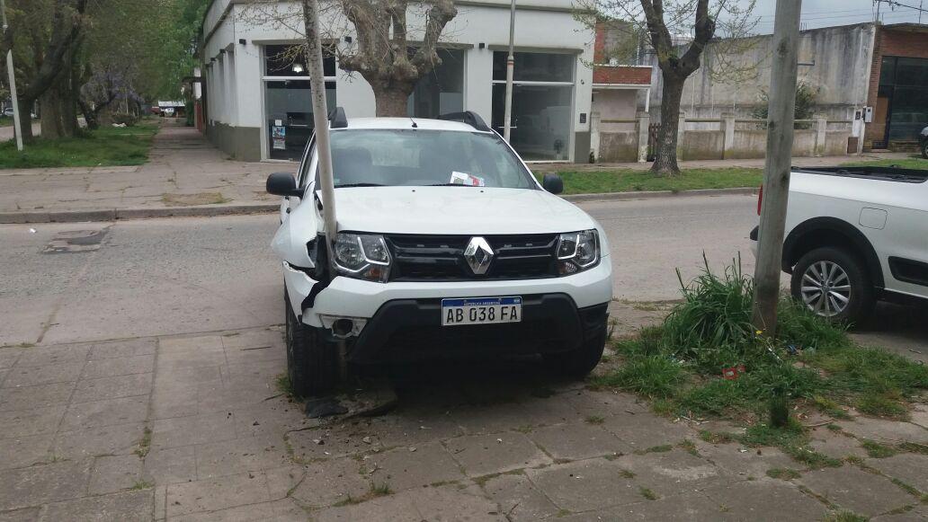 Restricciones a la circulación de vehículos por un choque