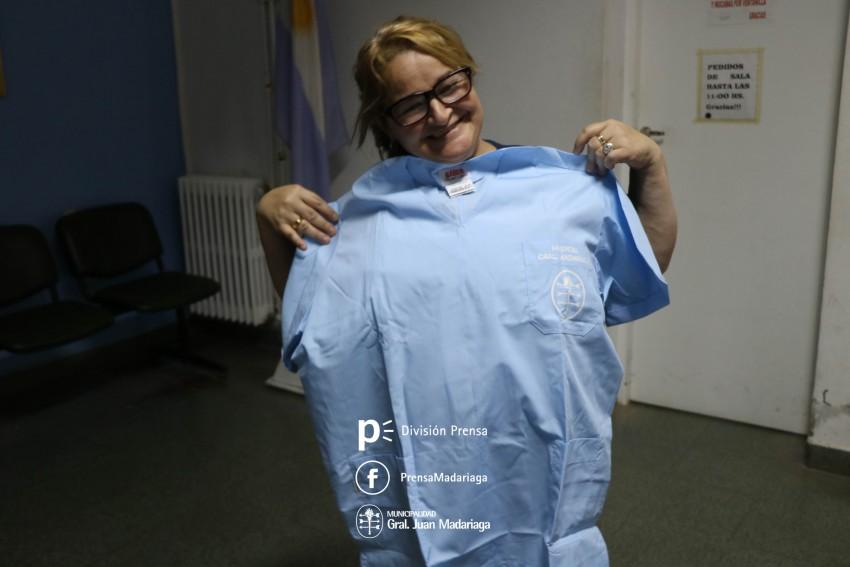 Personal del Hospital recibió nueva indumentaria