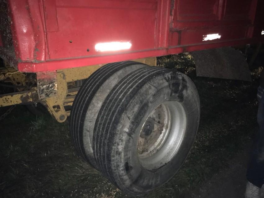 Choque entre camión y auto en la Ruta 56 deja un herido