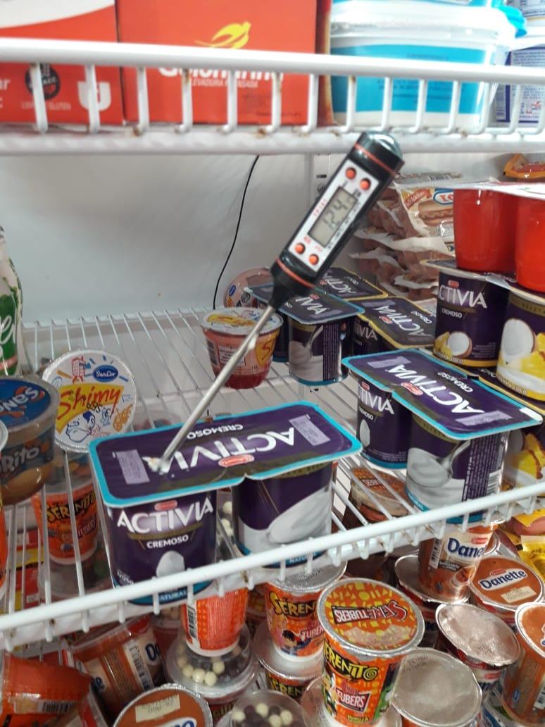 Decomisaron más de 500 productos de un supermercado