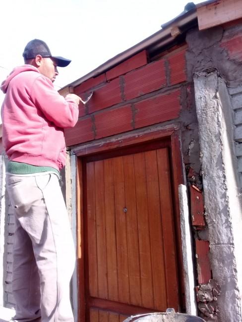 Construyeron un nuevo módulo habitacional en el barrio Belgrano
