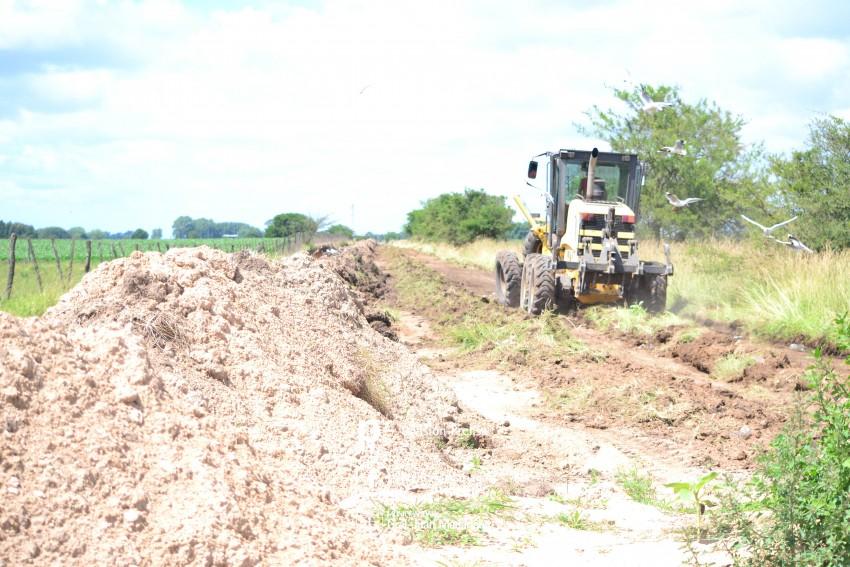 Avanza la obra en el camino rural popularmente conocido como