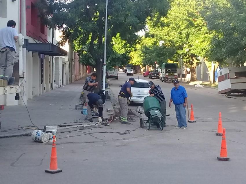 Arreglos de calles y cordones