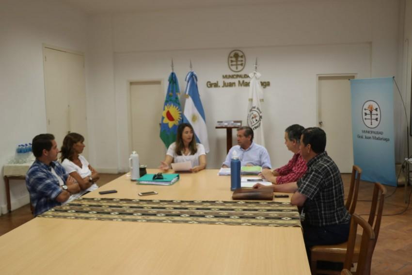 La Senadora Provincial Flavia Del Monte visitó Madariaga