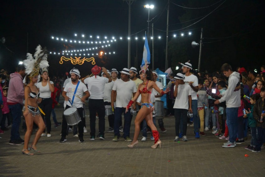 Última noche de Carnavales en el Predio de la Estación
