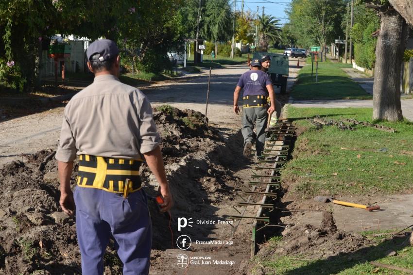 Continúa la reparación de calles en los distintos barrios