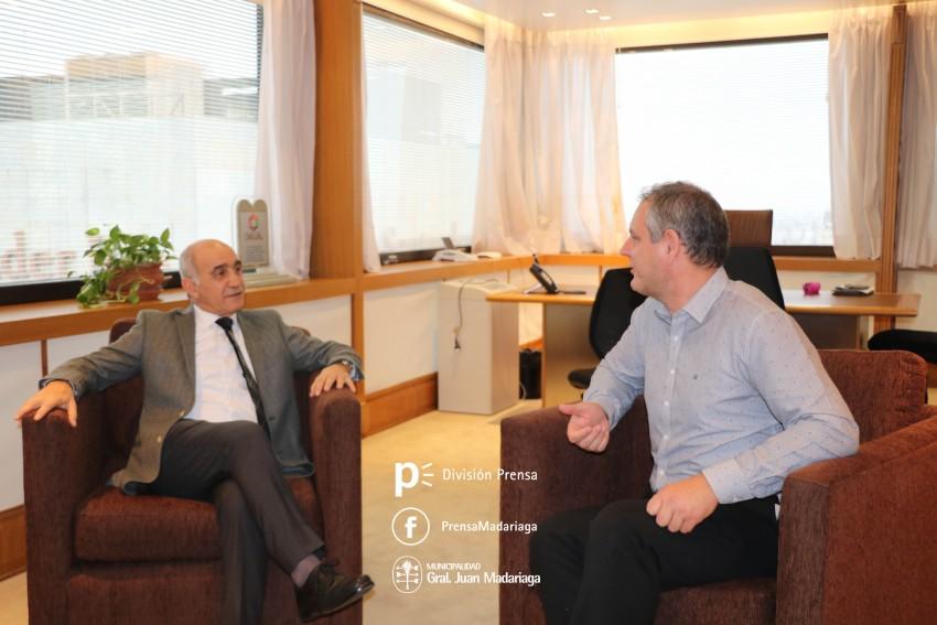 Santoro se reunió con el vicegobernador Daniel Salvador y dialogaron s