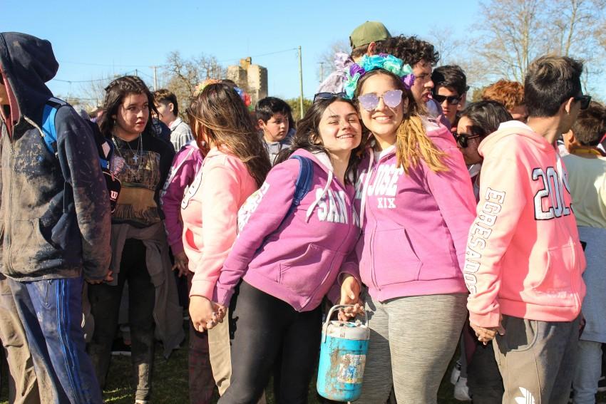 Los festejos por la primavera y el día del estudiante movilizaron a ce