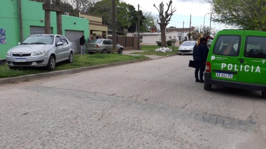 Una mujer fue trasladada al Hospital luego de chocar con otro vehículo