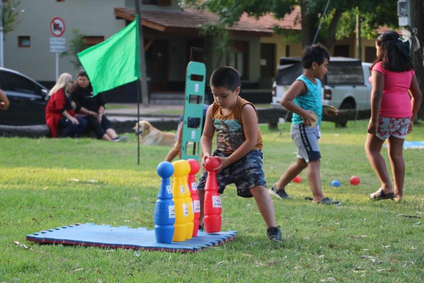Hoy hay juegos recreativos en el Parque Anchorena