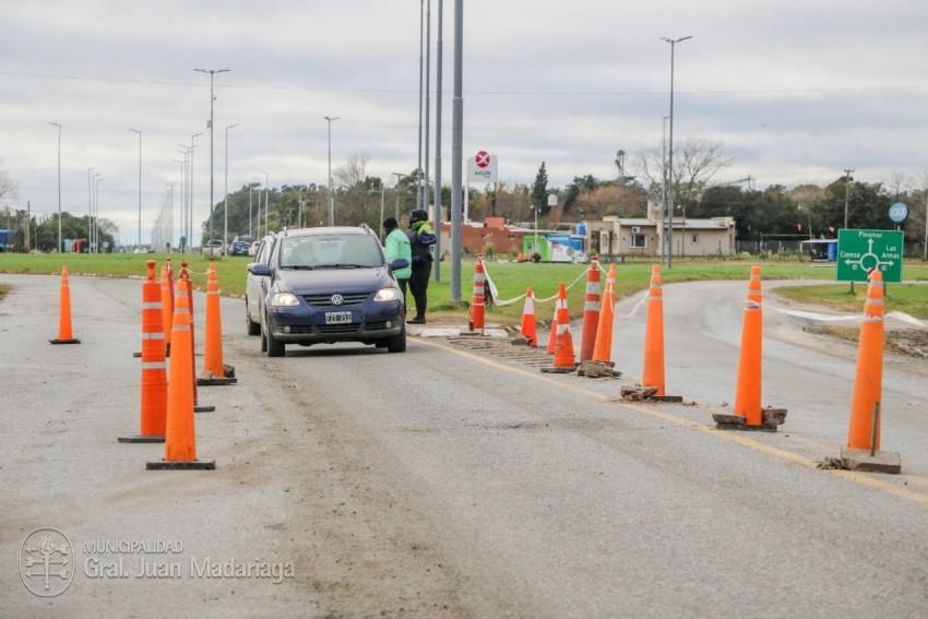 Liberaron el control del acceso principal a Madariaga