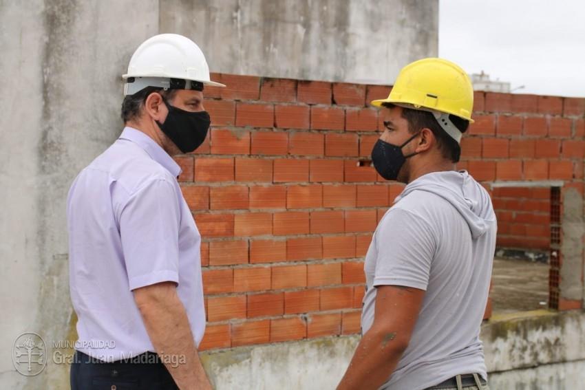 Culminaron los trabajos de la obra civil de la cisterna de agua