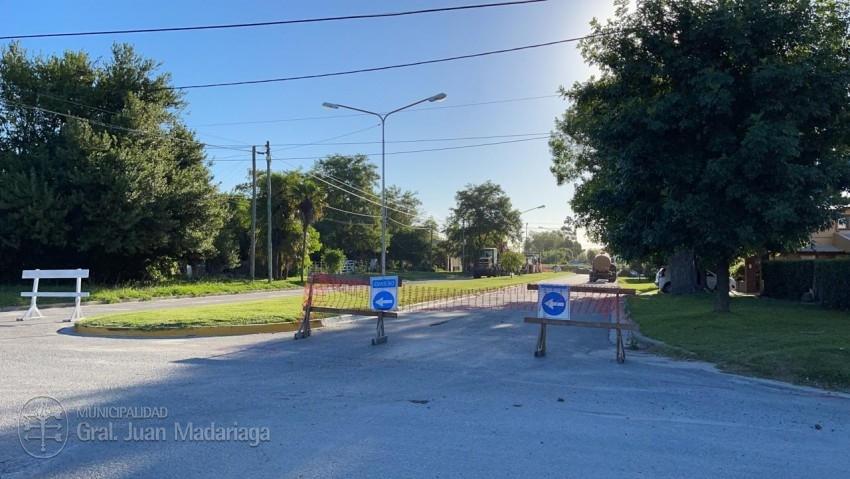 Repavimentación de la Av. Tuyú: Un tramo de ambas calzadas quedó cerra