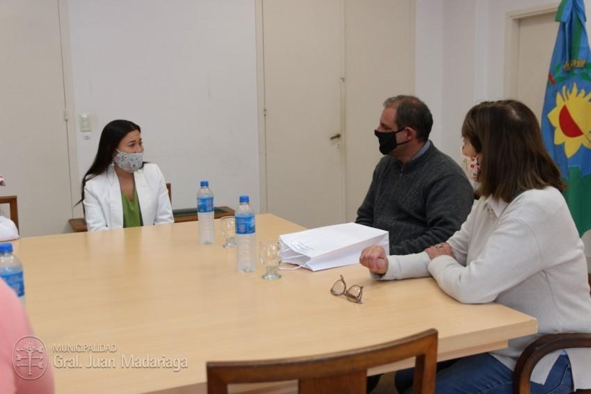 La madariaguense Milagros Mola fue reconocida por el Ejecutivo