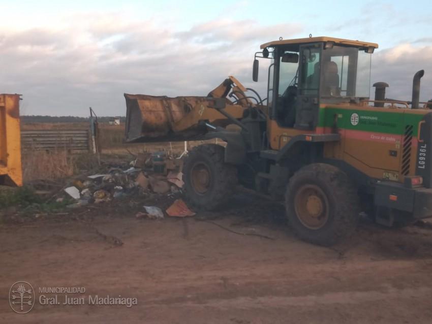 Luego de retirar 5 camiones con residuos decidieron colocar cámaras pa