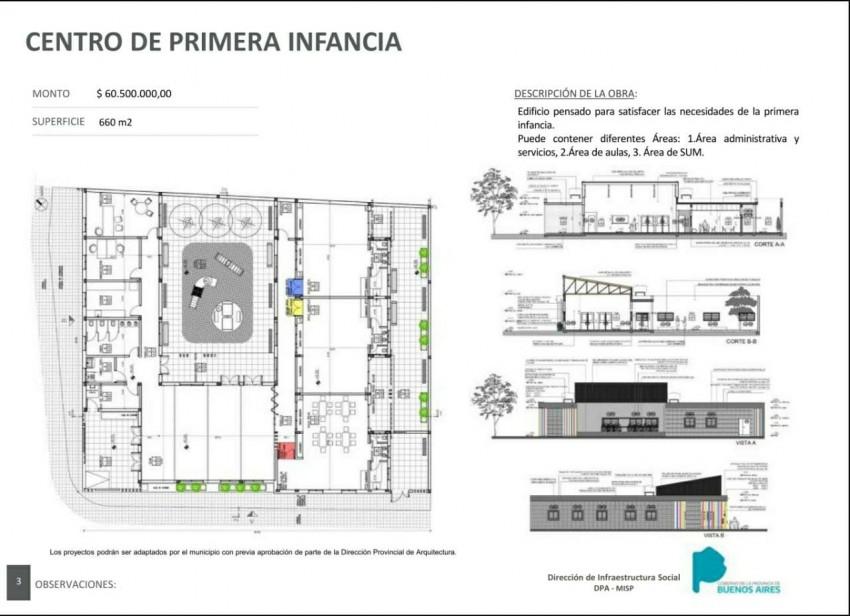 Santoro presentó los proyectos para la recuperación del edificio de la