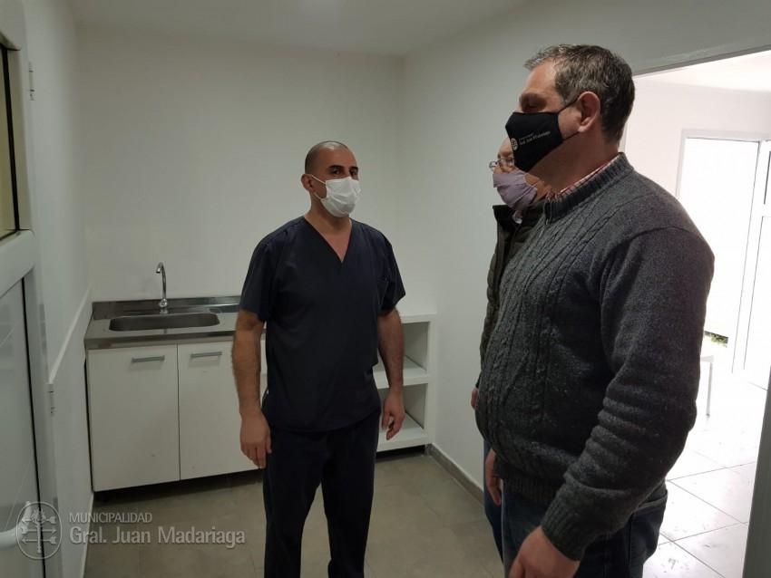 El Hospital Municipal suma un nuevo consultorio con sala de espera exc
