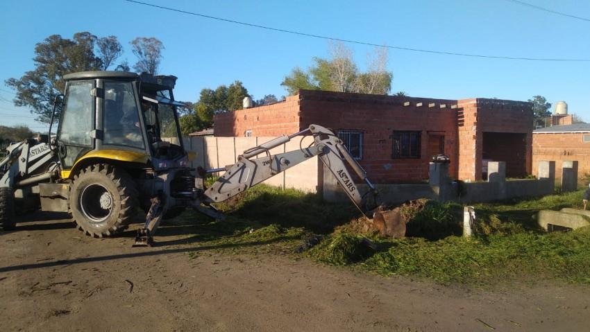 Continúan los trabajos para dar solución a los vecinos más afectados p