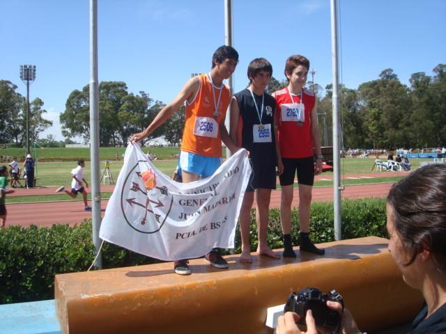 Medalla de Plata y triunfo para Madariaga
