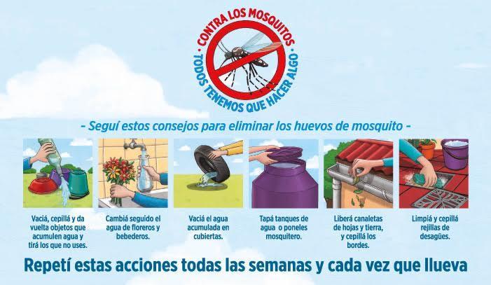 Comienza la campaña preventiva contra el dengue, el zica y chikungunya