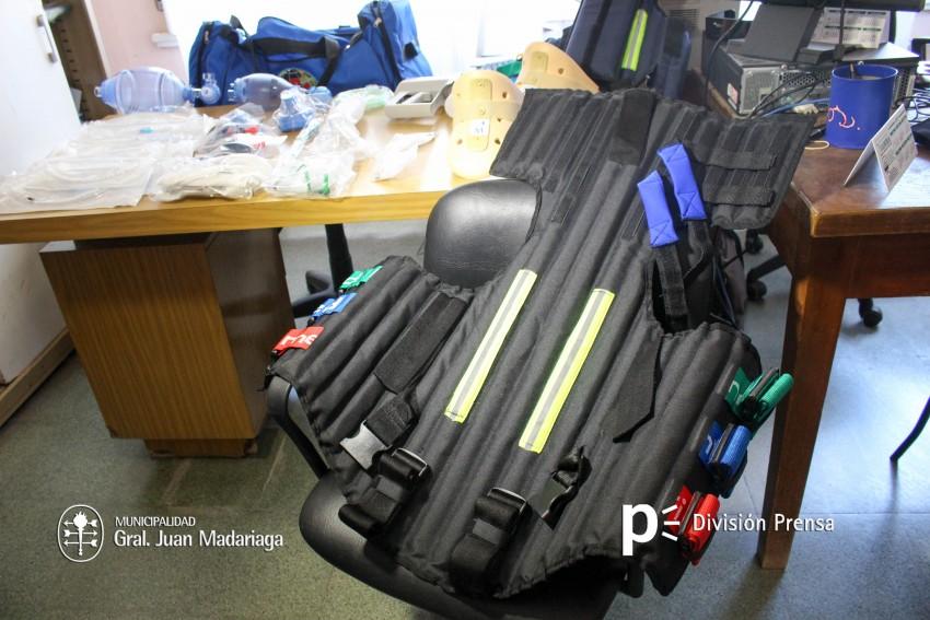 El Hospital adquirió equipamiento para ambulancias