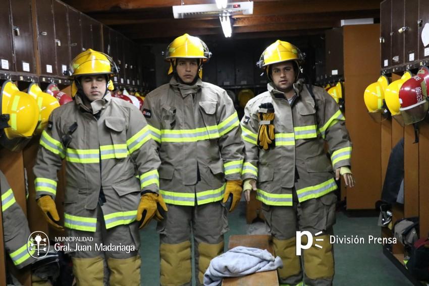 indumentaria bomberos