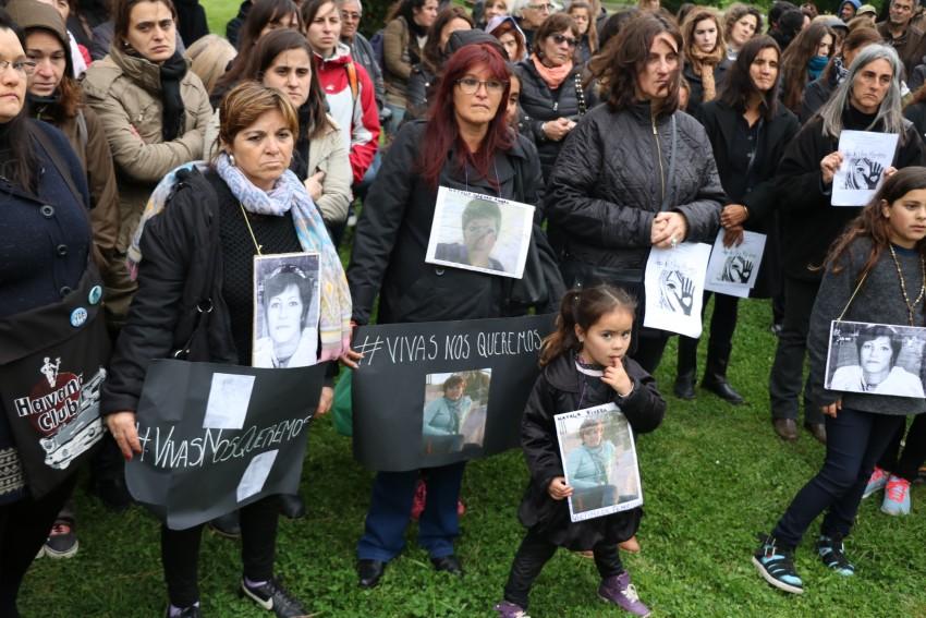 Marcha femicidios Madariaga Ni Una Menos